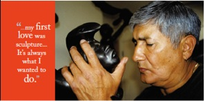 The kinesthetic vision of blind sculptor Michael Naranjo from Arts Perspective Magazine