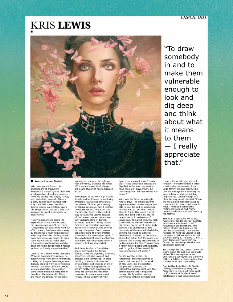 Kris Lewis from Blisss Magazine (2/2)