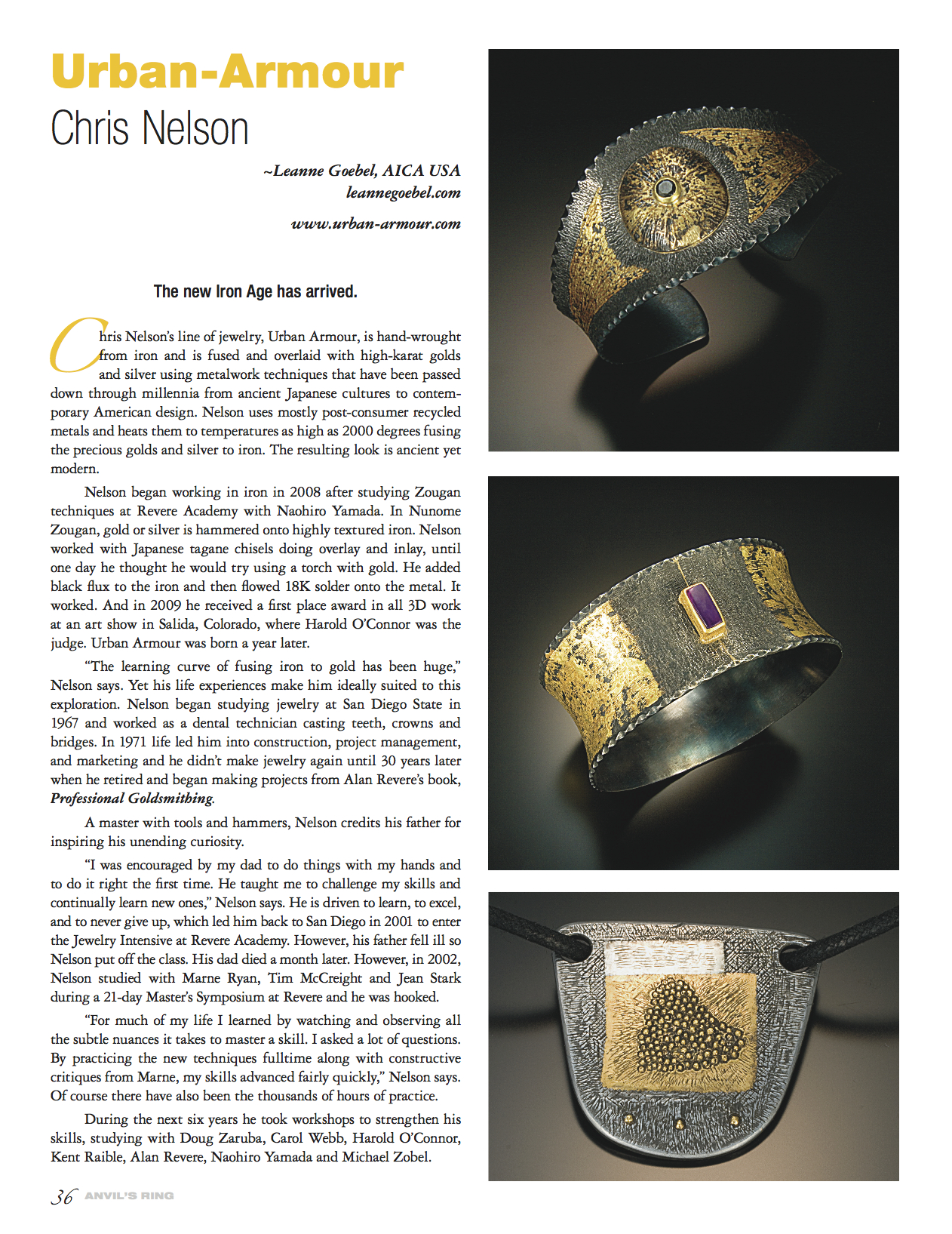 Anvils Ring Magazine